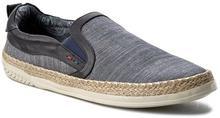 Wrangler Espadryle Malibu Slip On WF0262435 Blue 100 materiał/-materiał, skóra ekologiczna/-skóra ekologiczna