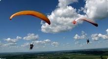 Lot na paralotni za wyciągarką - Lot na paralotni za wyciągarką Trójmiasto