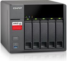 QNAP Serwer NAS QNAP TS-563-2G (Tower HDD 5szt. Pamięć RAM 2GB AMD x86 G-Series Quad-core 2.0 GHz) TS-563-2G