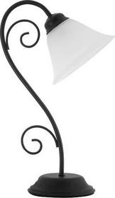 Rabalux klasyczna Lampa stołowa ART DECO ATHEN 7812 IP20 Czarny biały