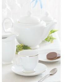Chodzież Maria Paula Zestaw kawowy dla 12 osób porcelana Złota Linia