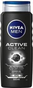 Nivea Active Clean Żel pod prysznic 500ml