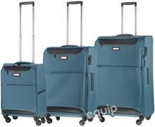 March zestaw walizek Flybird - niebieski