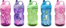 Nalgene Butelka turystyczna dla dzieci Everyday Grip-n-Gulp 0.35L różowa Wheels