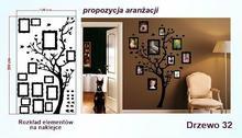 Naklejka Drzewa nr 32 format 200x120cm