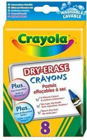Crayola 985200 KREDKI ŚWIECOWE ŚCIERALNE