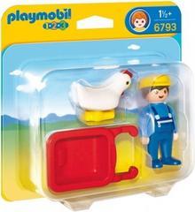 Playmobil Rolnik z taczką 6794