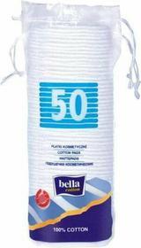 Bella Płatki kosmetyczne kwadratowe Cotton 50szt.