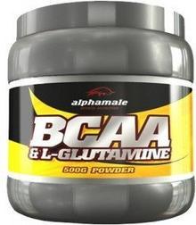 Alpha Male BCAA & L-Glutamine 500g