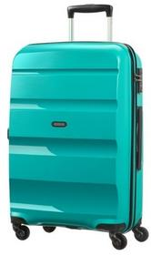 American Tourister by Samsonite Średnia walizka 85a Bon Air turkusowa 85A*31002