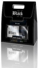 Jean Marc X Black Zestaw dla mężczyzn Woda po zestaw kosmetyków do golenia + dezodorant w sprayu
