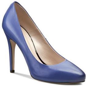 Gino Rossi szpilki - Lilia DCG790-P11-4300-5300-0 niebieski 55 skóra naturalna -