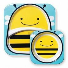 Skip Hop Zestaw talerzyk i miseczka Pszczoła 252155