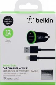 Belkin Ładowarka sieciowa 5v 2.4A light.kabel F8J121bt04-BLK