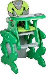 Caretero Krzesełko do karmienia PRIMUS zielony PRIMUS/Z