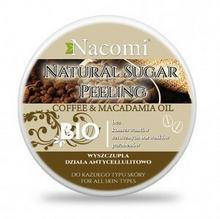 Nacomi Coffe & Macadamia Oil Natural Sugar Peeling Peeling Cukrowy Kawa Wyszczupla Działa antycellulitowo Do każdego typu skóry 100ml