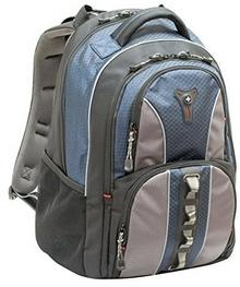 """Wenger COBALT 16\"""" Niebieski/szary o wyglądzie sportowy do wysokiej jakości plecak na laptopa w podróży GA-7343-06F00"""