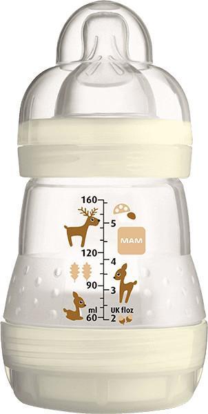 Mam butelka Butelka antykolkowa 160ml, 0mies.+ - biała M669903