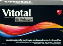 Aflofarm Vitotal dla mężczyzn 30 szt.