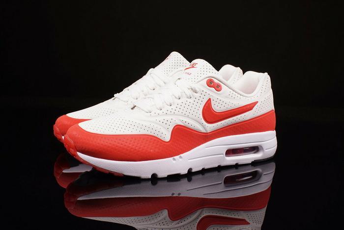 air max 1 biało czerwone