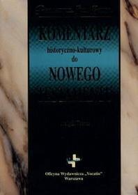 Keener Craig S. Komentarz historyczno-kulturowy do Nowego Testamentu