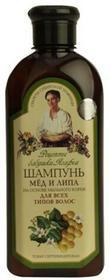Pierwoje Reszenie Szampon do wszystkich rodzajów włosów miód i lipa 350ml - Receptury Babuszki