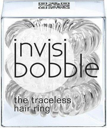 InvisiBobble Traceless Hair Ring Innocent White gumki do włosów biała 3szt.