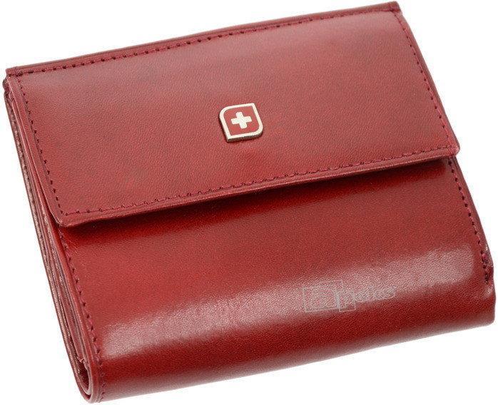 d70e4e8a599be Genevian Luxury Objects 03-2718-09 portfel skóra - czerwony – ceny ...