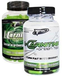 Trec L-Carnitine + Green Tea 180 kaps