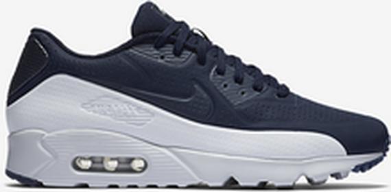 Nike Air Max 90 Ultra Moire 819477-404 biało-granatowy