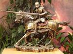 Veronese Rycerz na koniu w galopie