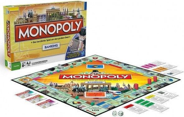 Hasbro Monopoly Tu i Teraz Banking 00114