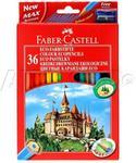 Opinie o Faber Castell Kredki ołówkowe 36kol zamek FC120136 FC1118