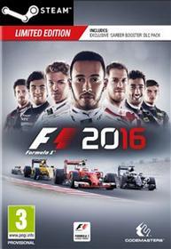 Codemasters Software F1 2016 Klucz Steam