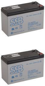 APC RBC60 zestaw baterii SBH SBH12V300x2