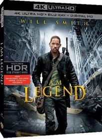 Jestem legendą 4K Ultra HD) Blu-ray) Francis Lawrence
