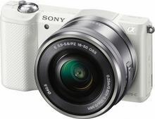 Sony ILCE-5000LW + 16-50 kit biały