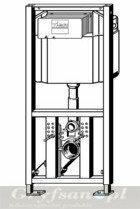 Viega Eco Plus - element montażowy do WC, H980 704 070
