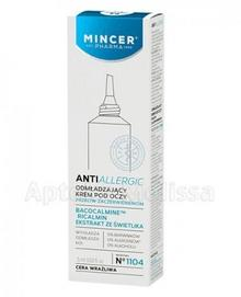 Mincer Pharma MCR CORPORATION SP Z O.O PHARMA ANTIALLERGIC Krem odmładzający pod oczy 15 ml 7061071