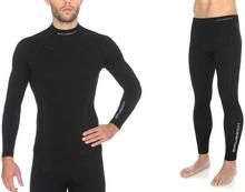 Extreme Bielizna termoaktywna męskia komplet Wool Merino LS11920 LE11120 Brubeck