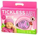 Olan Tech Odstraszacz kleszczy dla dzieci. Tickless Baby różowy.