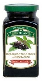RUNOLAND Mus z czarnego bzu Bio 300g - RUNOLAND