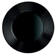 Luminarc TALERZ DESEROWY 19CM CZARNY HARENA BLACK zakupy dla domu i biura 250