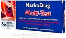 Diagnosis SP. Z O.O. NARKODIAG Multi-Test panelowy REF.0303 d/w 9046128