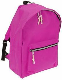Plecak SIMPLE-ONE szkolny, młodzieżowy, 13 l - różowy