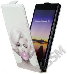 Huawei Etui Slim Flip Ascend P7 - Marilyn Monroe