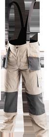NEO-TOOLS Spodnie robocze na szelkach 6w1 rozmiar L 81-320-L