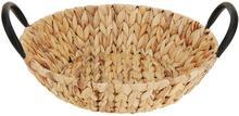 producent niezdefiniowany Okrągły kosz na owoce pleciony 32 cm B01MSQOEK