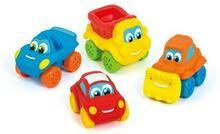 Clementoni Mięciutkie Samochodziki mix