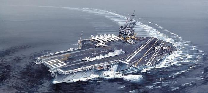 Italeri USS Kitty Hawk CV-63 5522